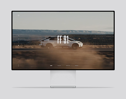 Faraday Future - Website Redesign
