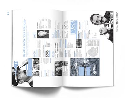 Montaje mundial - Editorial fascicle design