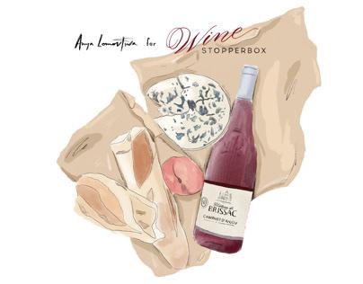 Anya Lomovtseva&WinestopperBox // Sticker Pack