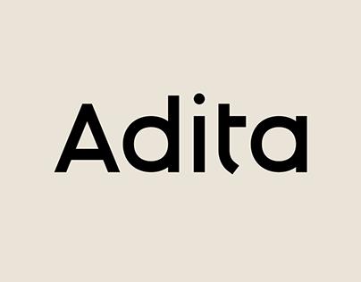 Adita – Font Family