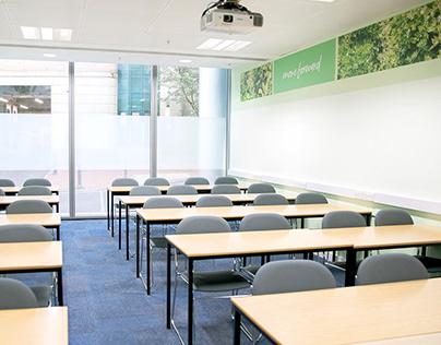 Kaplan Financial Reading, UK: Environmental Design