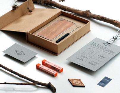 Eden - Holz fürs iPhone