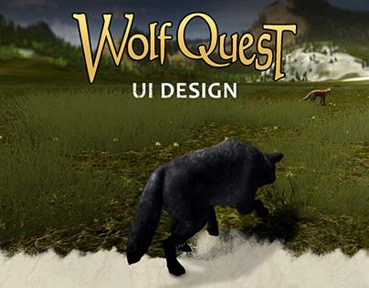 WolfQuest: Anniversary Edition UI Design