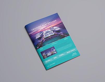 Marina Bay Cruise Centre Singapore Advert