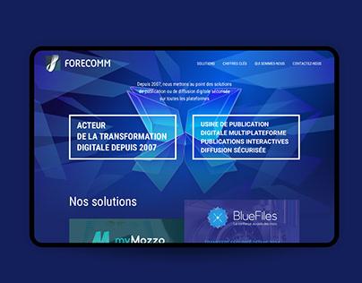 Web Design Forecomm