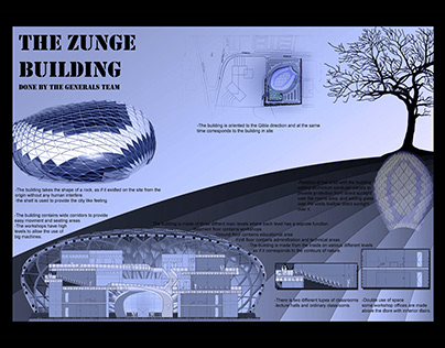 The ZUNGE building