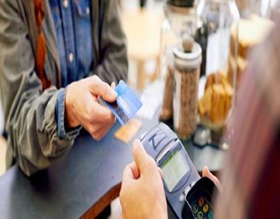 Paying through credit card