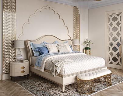 Modern East.Bedroom