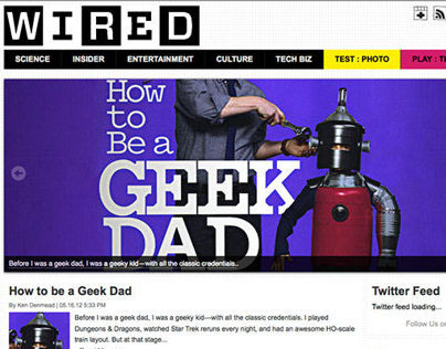 Responsive Wired Site