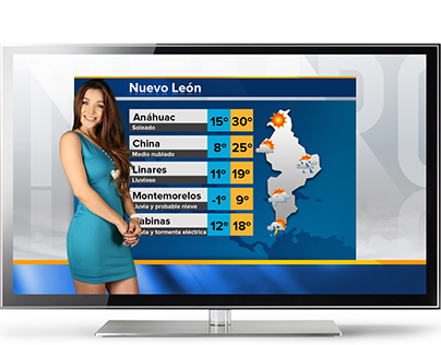 Weather Forecast Design / TV GRAPHICS 2015