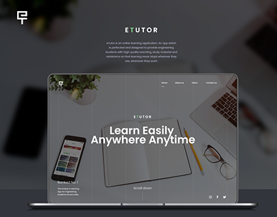 eTutor Website
