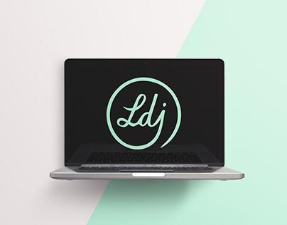 Lookdujour website -Art direction, logo, graphic design