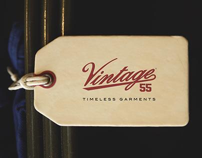 Vintage 55 Spring - Summer '17 branding & print design