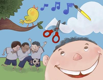 CHILDREN'S BOOK   Histórias da Ajudaris em Gondomar
