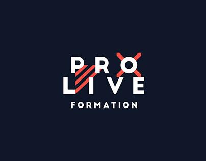 ProLive - Design d'identité
