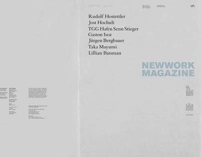 NEWWORK MAGAZINE, Issue 5