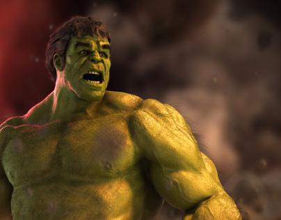 The Incredible Hulk WIP