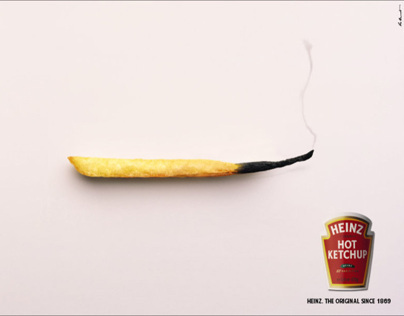 Heinz hot ketchup