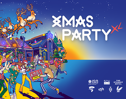 XMAS PARTY Amsterdam Poster