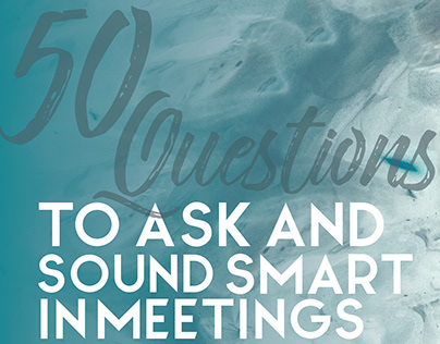 50 Questions to Ask: Blog Content Visuals