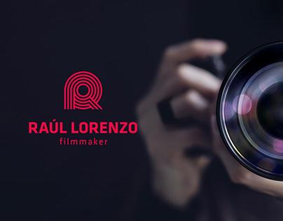 Branding personal Raúl Lorenzo - filmaker