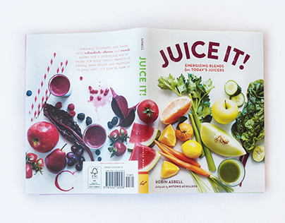 Juice It Cover and Interior Design