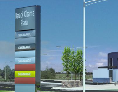 Proposed 'Barack Obama Plaza'
