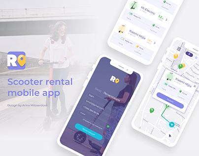 CityRush – scooter rental app