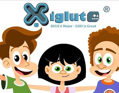 Animação de apresentação da plataforma social Xiglute.