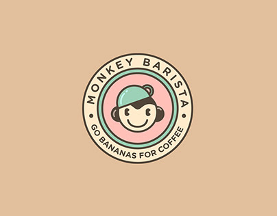 Monkey Barista | Logo Design
