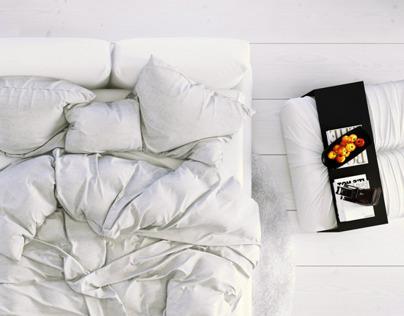 White Bedroom | MarvelousDesigner tutorial for 3dArtist