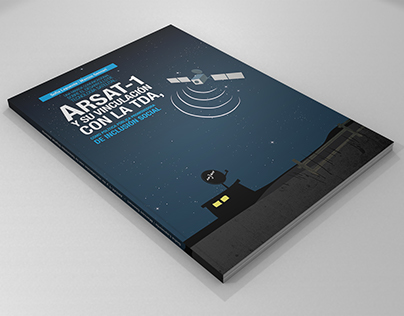 ARSAT-1 Editorial design and cover illustration