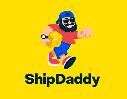 ShipDaddy: Identity and Web Design for Shipping Company