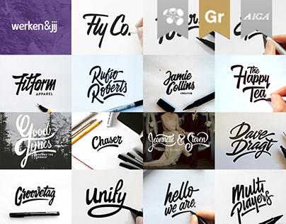 Lettering & Logotype Vol.1