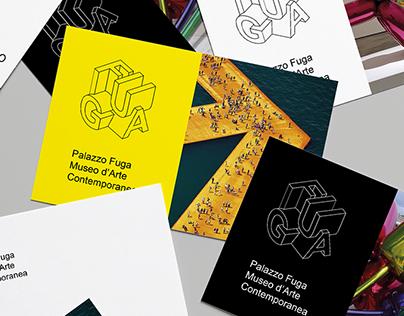 palazzo FUGA - Contemporary art museum branding