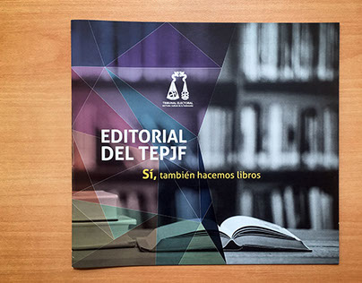 Brochure para Editorial del TEPJF