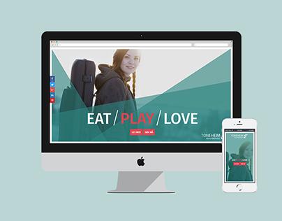 TONEHEIM – Eat / Play / Love