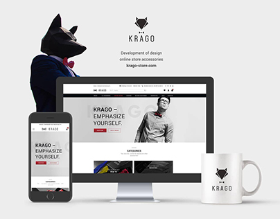 Redesign Online Shop KRAGO