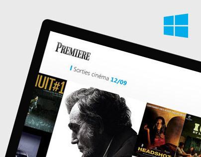 Premiere // Windows 8
