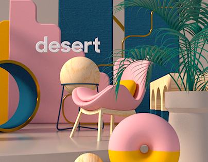 the desert - shapes x forms