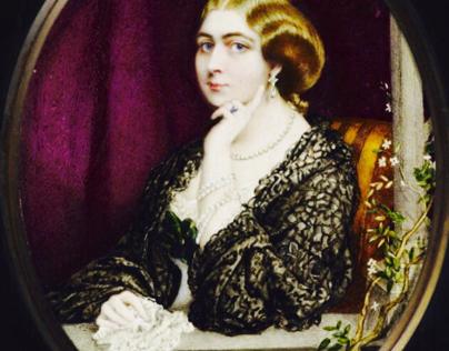Princess Mary Adelaide of Cambridge, b. 1833