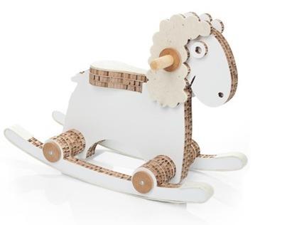 Bærta, the rocking sheep