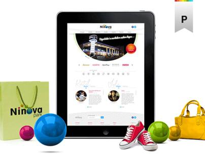 Ninova Park AVM / MALL Web Design