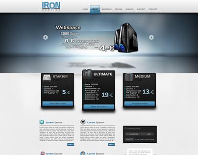 Hosting Screendesign