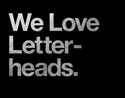 We Love Letterheads