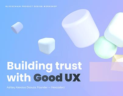 Blockchain Product Design | 3D shapes