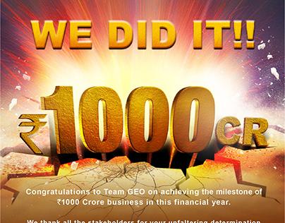 1000 Crore Mailer