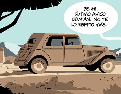 QUINIELAS, UNA NOVELA GRÁFICA.