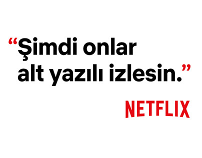 Netflix Made in Turkey Campaign