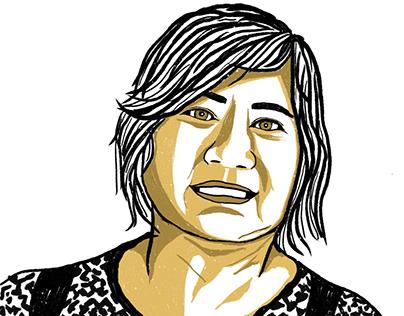 2020 Cartoon Portrait (R. Bacal)